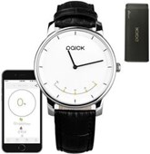 Paick Bluetooth Smartwatch w/ Analog Citizen Miyota Movement, Digital Pedometer